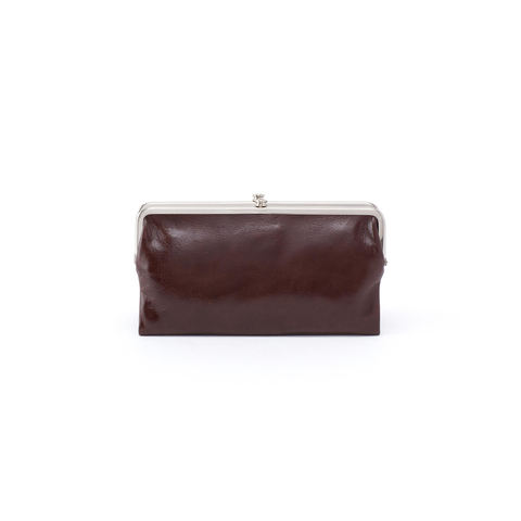 Hobo Handbags Lauren Wallet in Espresso