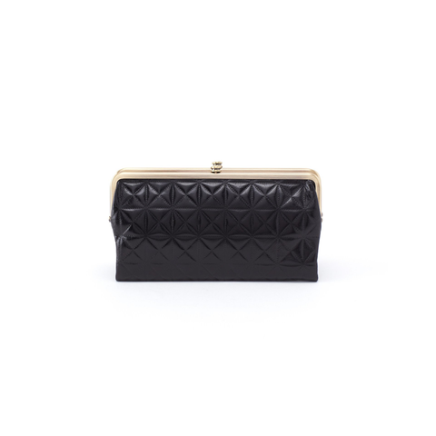 Hobo Handbags Lauren Wallet in Black