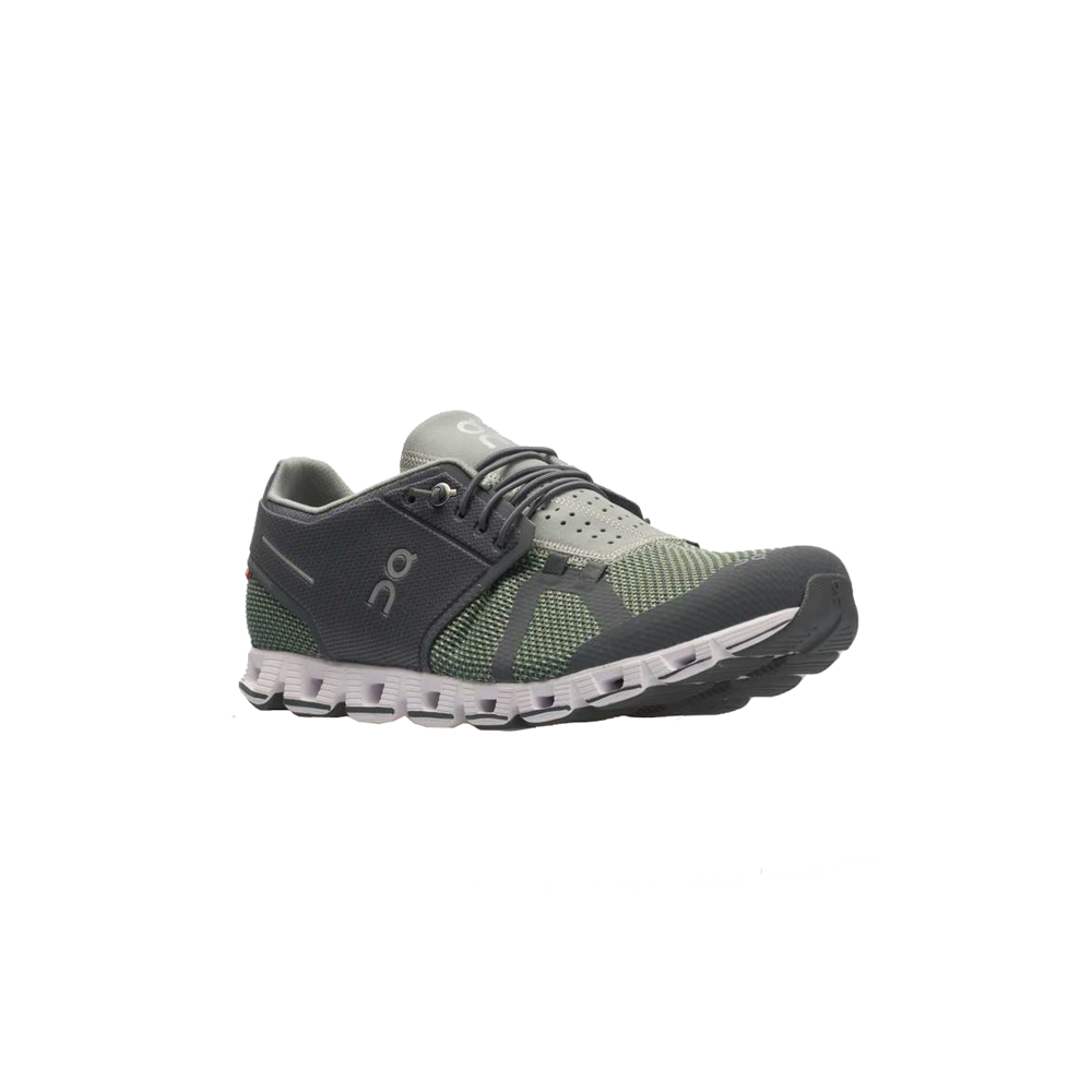 Mens On Running Cloud Slip On Tennis Shoe in Rock Leaf Green - Brother's on the Boulevard