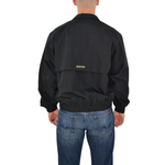 Mens Cutter & Buck Saints Wind Breaker in Black - Brother's on the Boulevard