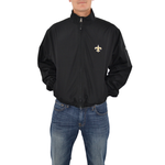 Cutter & Buck Saints Wind Breaker in Black
