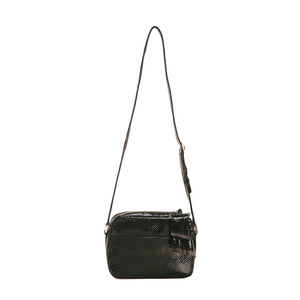 Womens Kelly Wynne Mingle Mingle Mama Crossbody Bag with Tassel in Obsidian - Brother's on the Boulevard