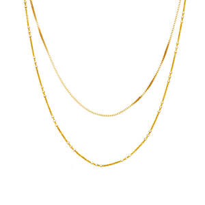 Womens Joy Dravecky Eternal Layered Necklace in Gold - Brother's on the Boulevard