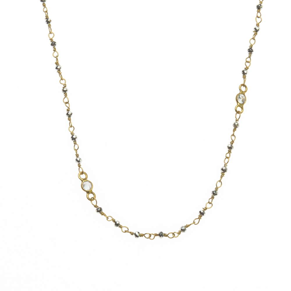 Womens Joy Dravecky Wayfare Layering Necklace in Gold - Brother's on the Boulevard