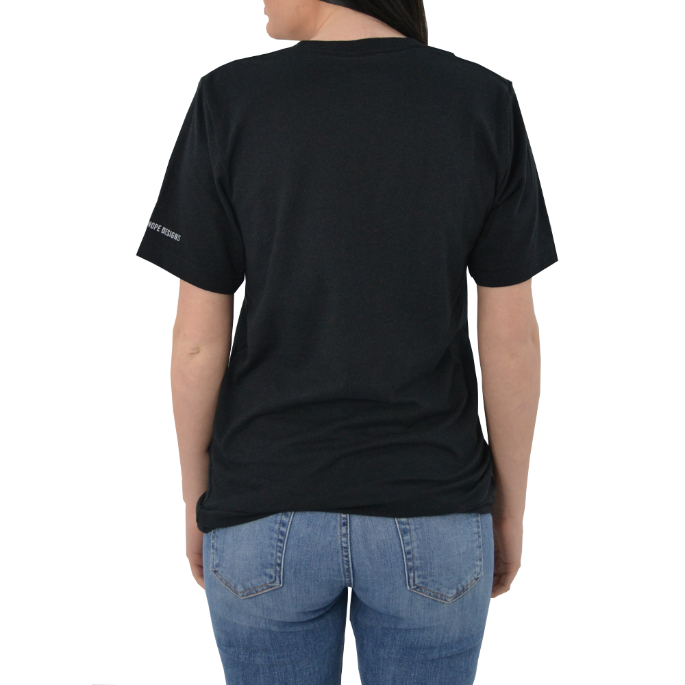 "Womens Brother's ""The Golden Rule"" Tee in Black - Brother's on the Boulevard"