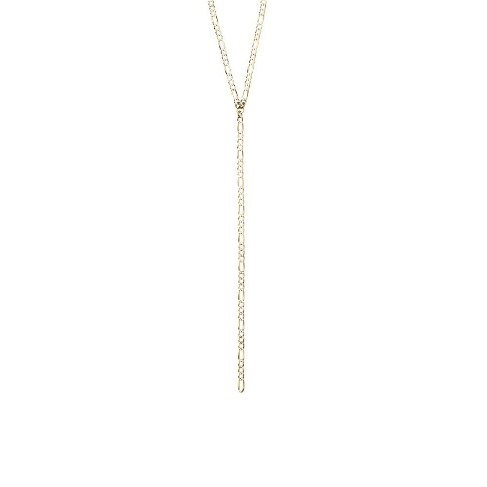 Womens Joy Dravecky Flash Y Necklace in Gold - Brother's on the Boulevard