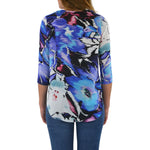 Womens Askari Nantucket Top in Floral - Brother's on the Boulevard