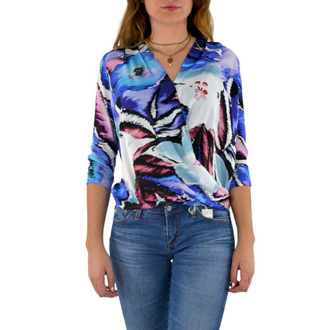 Askari Nantucket Top in Floral