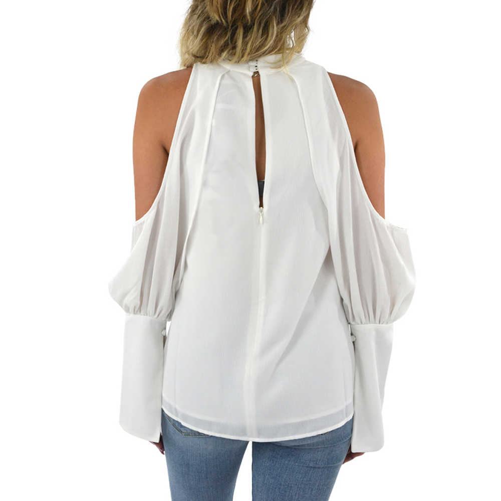 Womens C/meo Long Sleeve No Reason Top in Ivory - Brother's on the Boulevard
