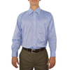 Mens Brother's on the Boulevard Spread Collar Straight Cuff Shirt in Blue - Brother's on the Boulevard
