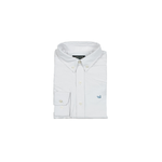 Southern Marsh Youth Pintail Oxford Dress Shirt in White