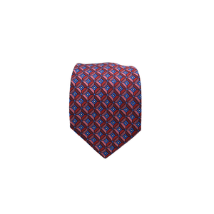 Mens Giannini Silk Neck Tie in Red - Brother's on the Boulevard