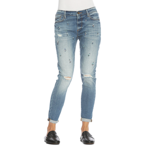 Womens Driftwood BeauMid Rise Ankle Skinny in Blue Steel - Brother's on the Boulevard
