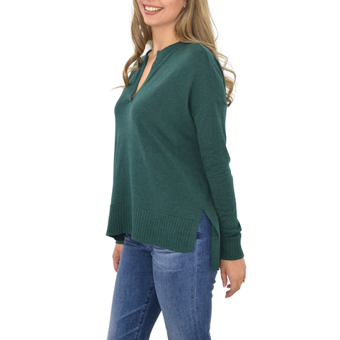 Womens Crosby Bianca Blouse in Gunnrose - Brother's on the Boulevard