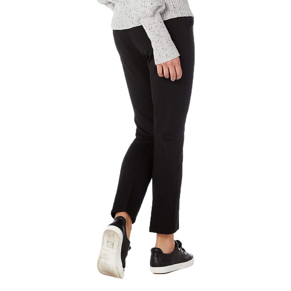 Womens Michael Stars Zip Fly Pant in Black - Brother's on the Boulevard