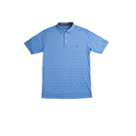 Southern Marsh Emerson Performance Polo in French Blue
