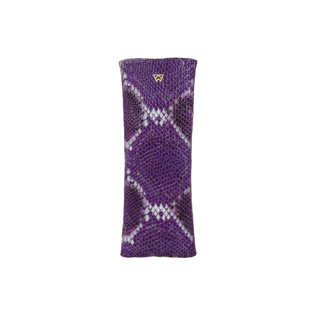 Kelly Wynne Privacy Pouch in Purple