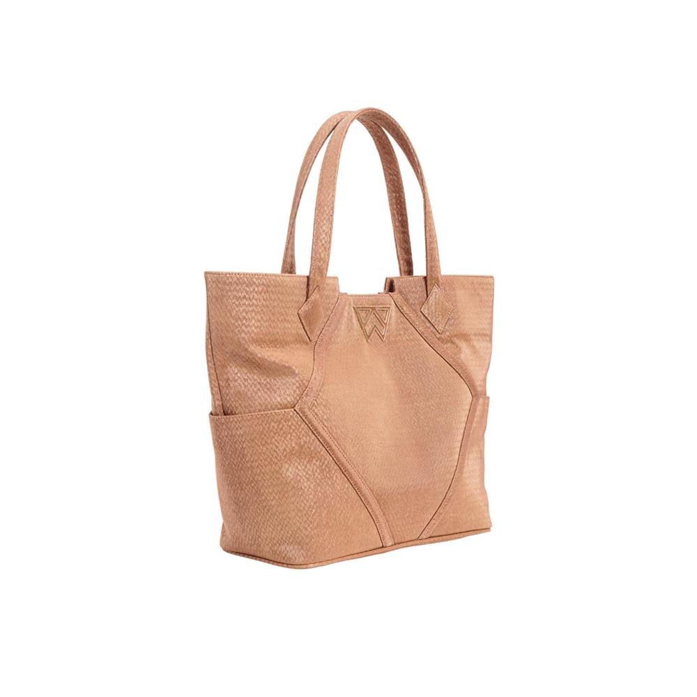 Kelly Wynne Paint The Town Tote in Sandstone