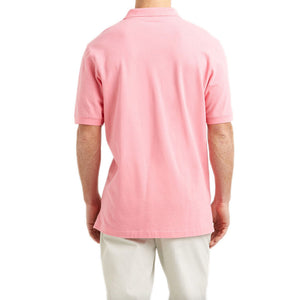 Mens Vineyard Vines Classic Pique Polo in Pale Pink - Brother's on the Boulevard