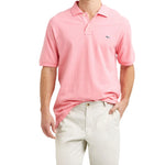 Vineyard Vines Classic Pique Polo in Pale Pink