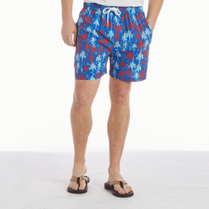 Mens Southern Proper Southern Swim Trunks in Palmetto Fireworks - Brother's on the Boulevard