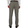 Mens Chiari Un-Hemmed Flat Front Dress Pant in Dark Taupe - Brother's on the Boulevard