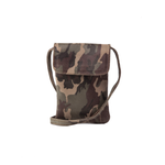Cofi Leather Penny Phone Bag in New Camo