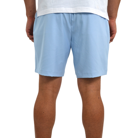 Mens Southern Point Performance Short in Cerulean - Brother's on the Boulevard