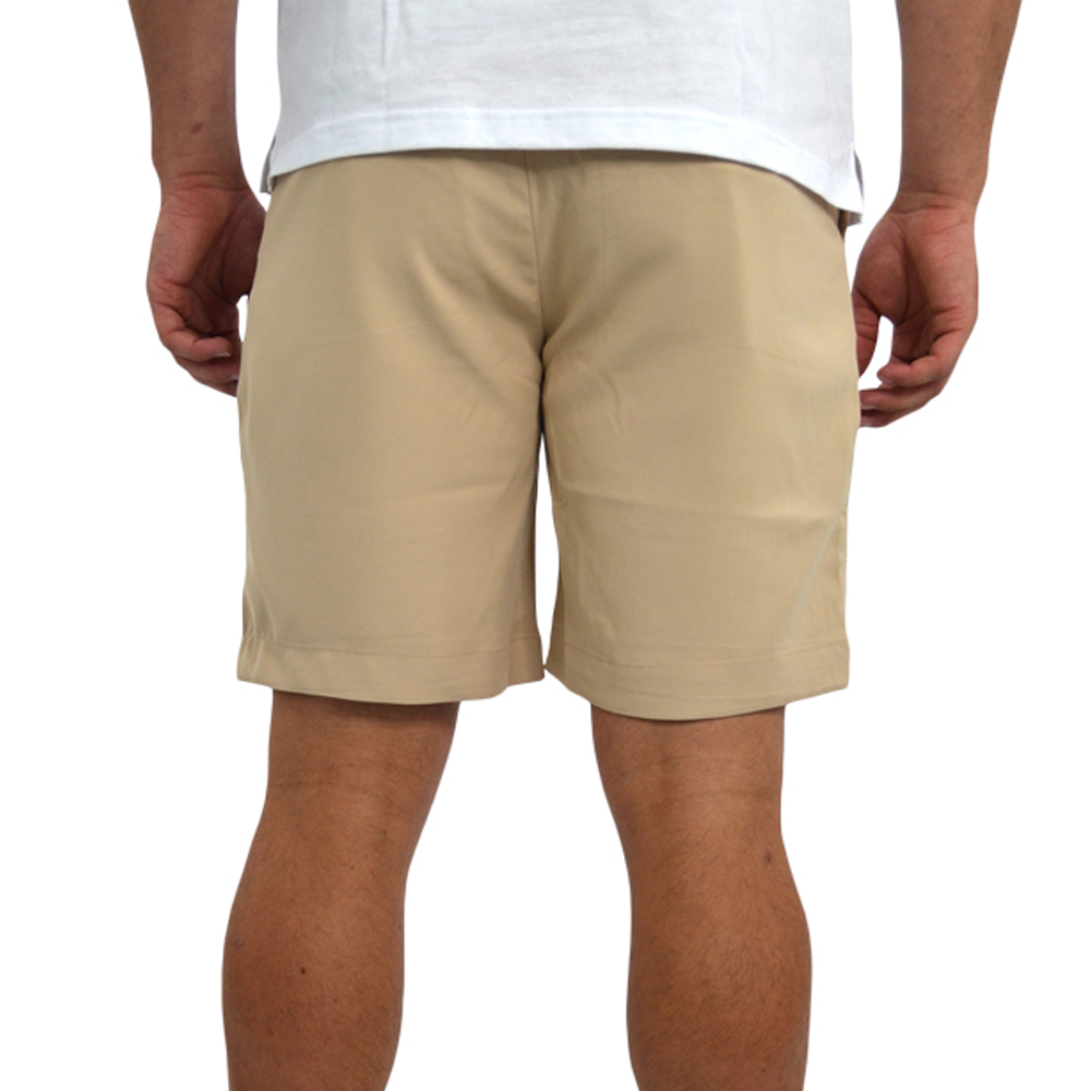 Mens Southern Point Performance Short in Khaki - Brother's on the Boulevard