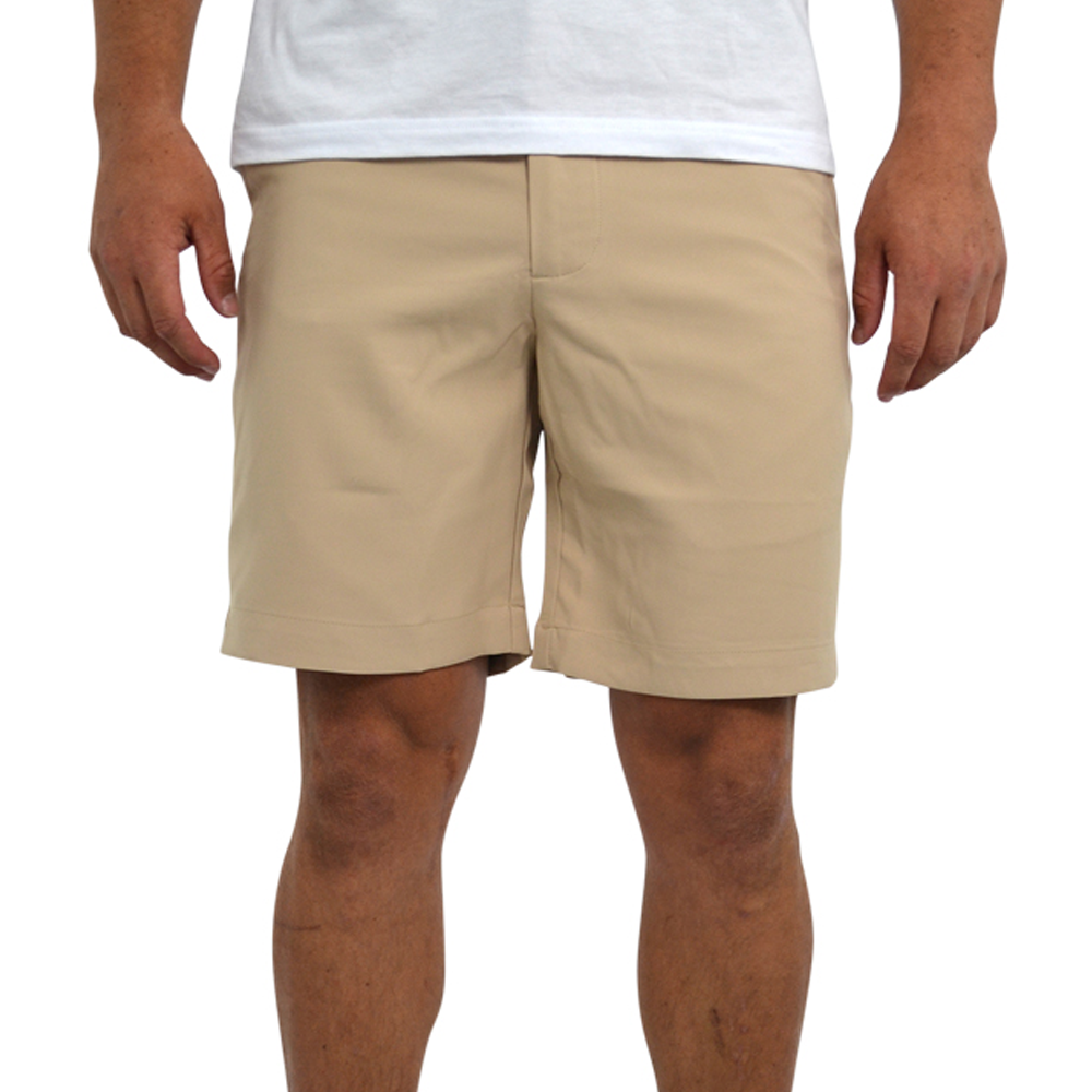 Southern Point Performance Short in Khaki