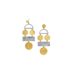 Baublebar Picasso Drop Earrings in Gold and Silver