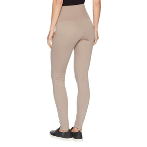 Womens Lysse Center Seam Ponte Legging in Mocha - Brother's on the Boulevard
