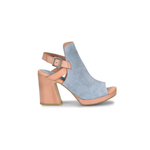 Womens Kork-Ease Hopi Peep Toe Heel in Blue Jean Blue - Brother's on the Boulevard