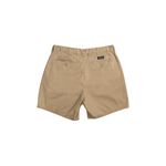 Mens Southern Marsh 6in. Flat Front Regatta Shorts in Field Khaki - Brother's on the Boulevard