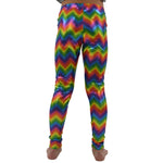 Tween Girls Weekend Vibes Girls Rainbow Zig Zag Leggings in Multi - Brother's on the Boulevard
