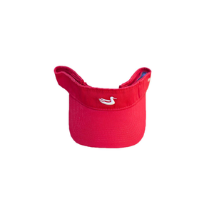 Mens Southern Marsh Signature Visor in Red and White - Brother's on the Boulevard
