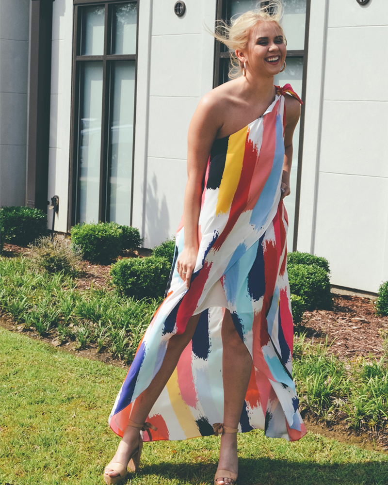 Crosby Sasha Maxi Dress in Surf Shack