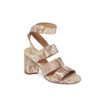 Seychelles Antiques Exotic Chunky Heel in Beige