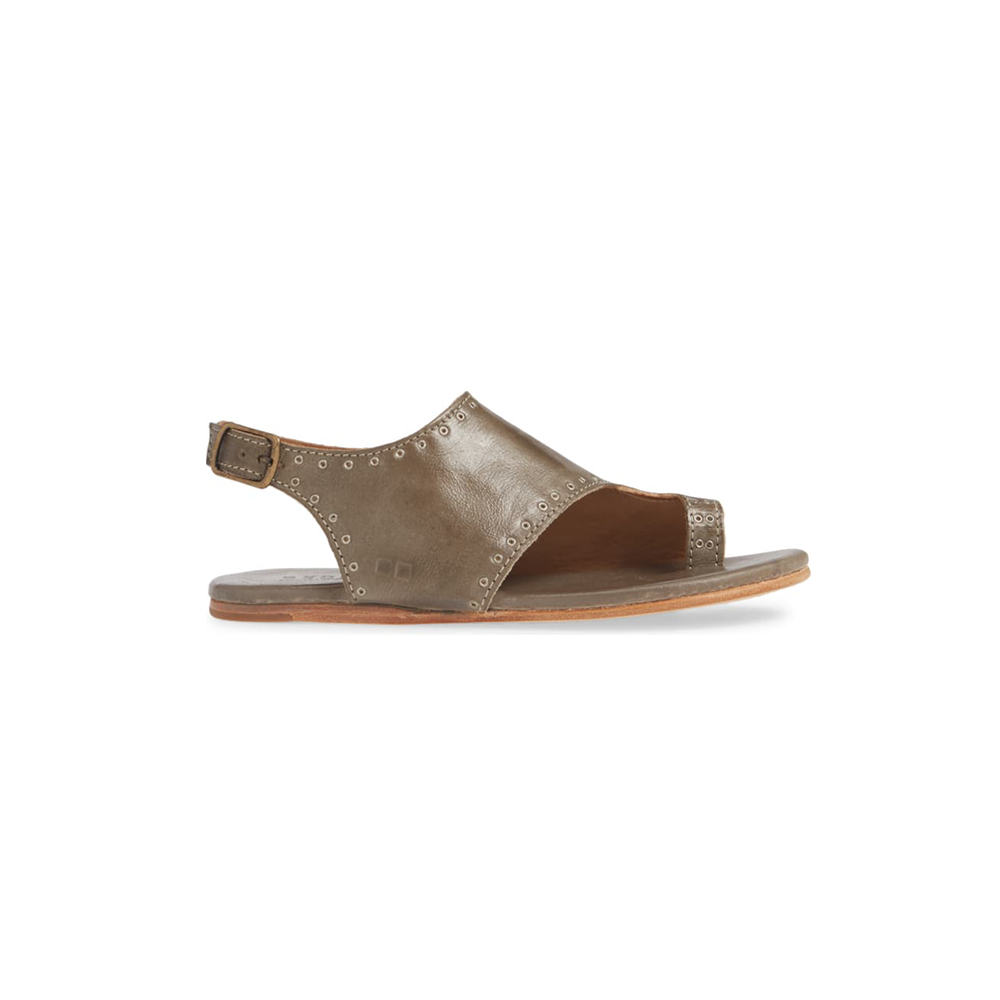 Womens Bed Stu Misha Sandals in Taupe Rustic - Brother's on the Boulevard