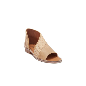 Womens Free People Textured Mont Blanc Sandal in Natural - Brother's on the Boulevard
