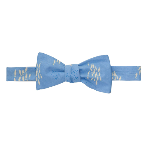 Mens Southern Proper Riptide Bow Tie in Hydrangea - Brother's on the Boulevard