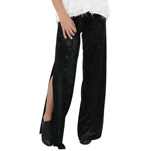 Womens Three Eighty Two Ryland Split Pants in Pitch - Brother's on the Boulevard