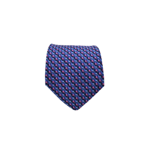 Mens Giannini Silk Neck Tie in Blue - Brother's on the Boulevard