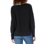 Womens Michael Stars V-Neck Sweater in Charcoal/Heather - Brother's on the Boulevard