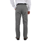 Mens Chiari Pleated Slacks in Grey - Brother's on the Boulevard