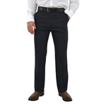 Chiari Pleated Slacks in Navy