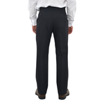 Mens Chiari Pleated Slacks in Navy - Brother's on the Boulevard