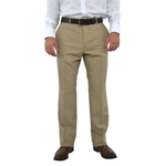 Chiari Pleated Slacks in Tan