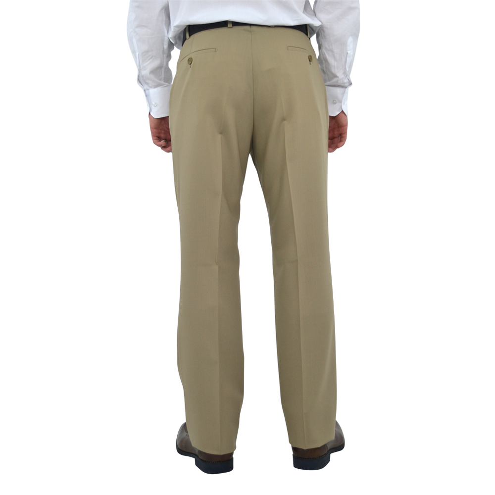 Mens Chiari Pleated Slacks in Tan - Brother's on the Boulevard