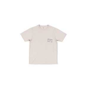 Boys Southern Marsh Youth Authentic Heathered Tee in Washed Oatmeal - Brother's on the Boulevard
